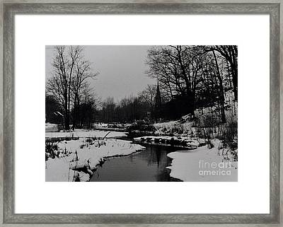 Church, Richmondtown, Staten Island Framed Print