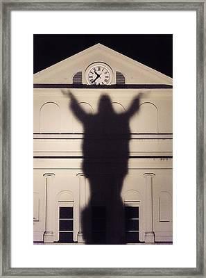 Church Shadow Framed Print