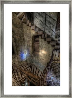 Church Stairs Above Framed Print by Nathan Wright