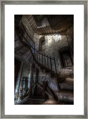 Church Stairs Framed Print by Nathan Wright