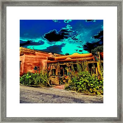 Church Street Cafe - Albuquerque Framed Print by David Patterson