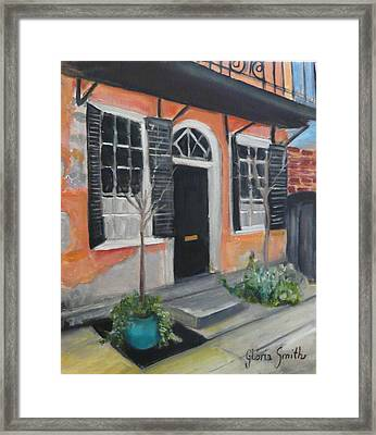 Church Street Framed Print