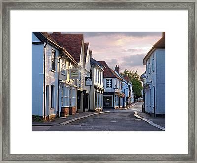 Church Street Sawbridgeworth Framed Print