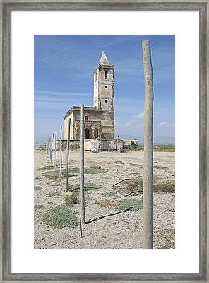 Church Walk Framed Print by Jez C Self