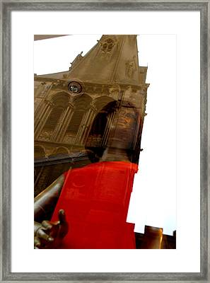 Churched Framed Print by Jez C Self
