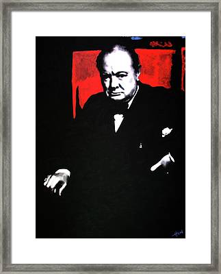 Churchill Framed Print