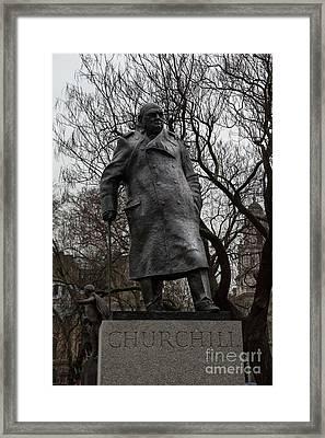 Churchill Framed Print