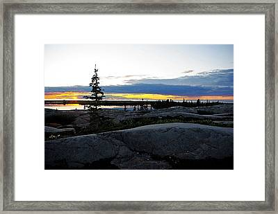 Churchill Tundra No. 1 Summer Framed Print
