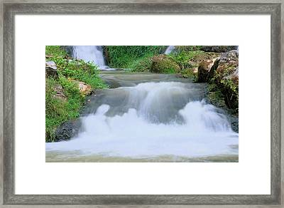 Churning Framed Print by Kristin Elmquist