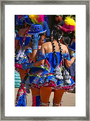 Chutillos Fiesta 24 Framed Print by Skip Hunt