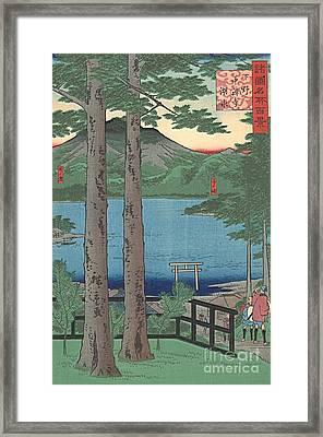 Chuzenji Lake Framed Print