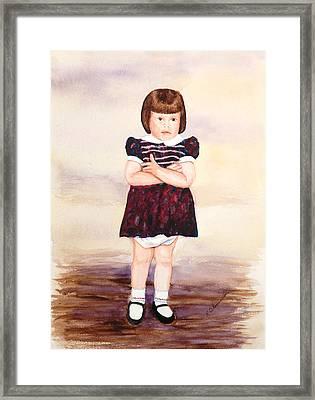Chyrl Framed Print by Robert Thomaston
