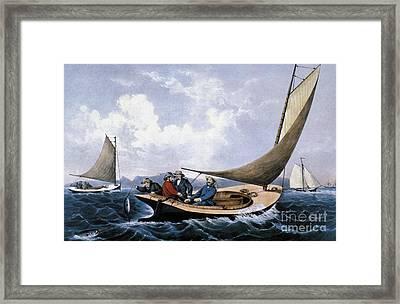 C&i: Trolling, 1866 Framed Print by Granger