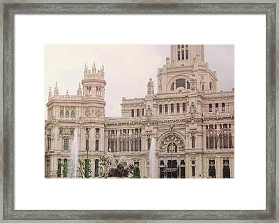 Cibeles Palace Framed Print by JAMART Photography