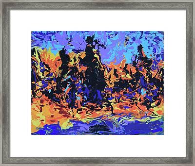 Cibola Framed Print