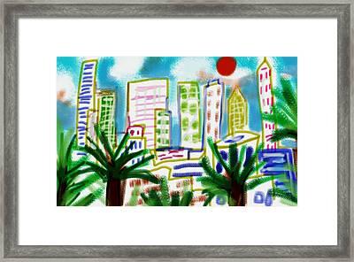 City Heat  Framed Print by Paul Sutcliffe
