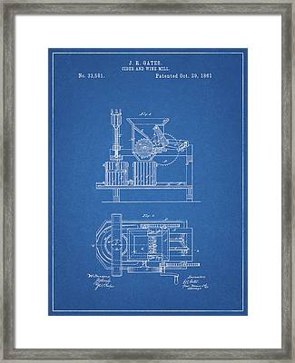 Cider And Wine Mill Framed Print