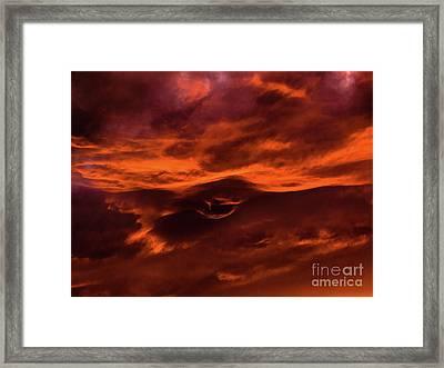 Ciel Vagin Framed Print