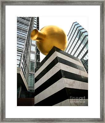 Cielo Framed Print by Chris Dutton