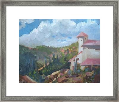 Cielo Villa Framed Print by Bryan Alexander