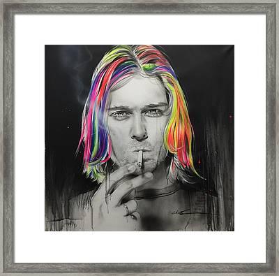 Cigarette Burns Framed Print