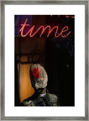 Cigarette Time Framed Print by Jez C Self