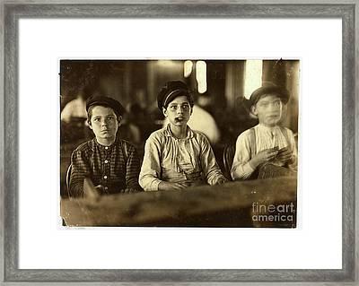 Cigarmakers Framed Print