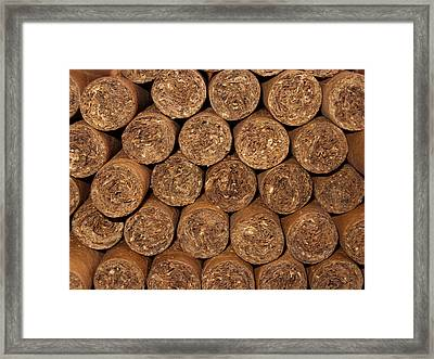 Cigars 262 Framed Print