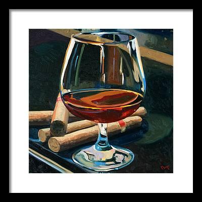 Cocktail Framed Prints