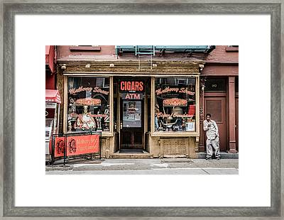 Cigars Framed Print by June Marie Sobrito