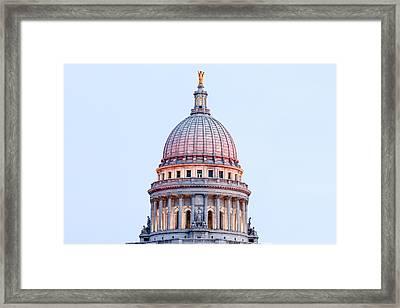 Cimmerian Capitol Framed Print by Todd Klassy
