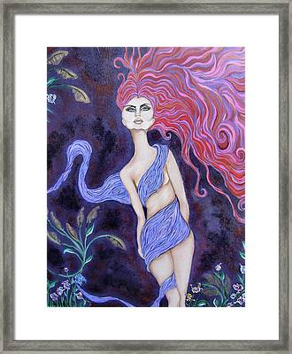 Cimmerian Framed Print by Samantha Kulchar