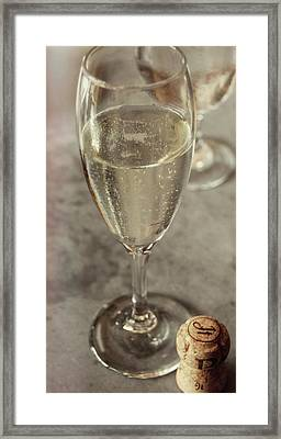 Cin Cin Champagne Therapy Framed Print by JAMART Photography