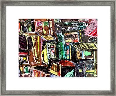 Cin City 2 Framed Print by Mindy Newman