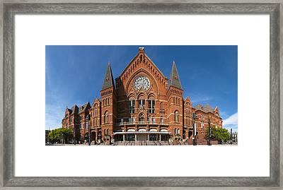 Cincinnati Music Hall Framed Print