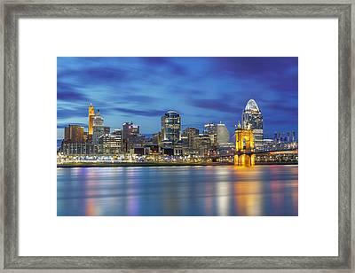 Cincinnati, Ohio Framed Print