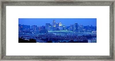 Cincinnati, Ohio, Usa Framed Print by Panoramic Images