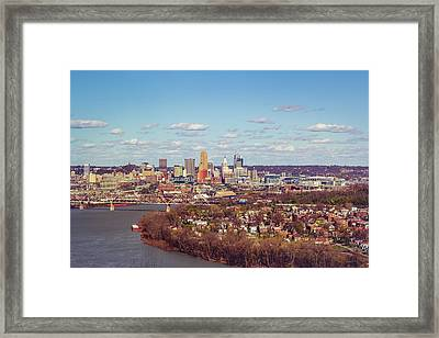 Cincinnati Skyline 2 Framed Print