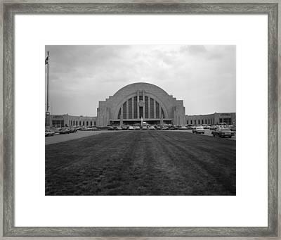 Cincinnati Union Terminal, Constructed Framed Print by Everett