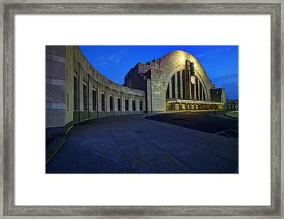 Cincinnati Union Terminal Framed Print