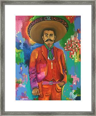 Cinco Framed Print by Crimson Shults