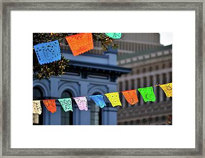 Cinco De Mayo Framed Print by Allison Achauer