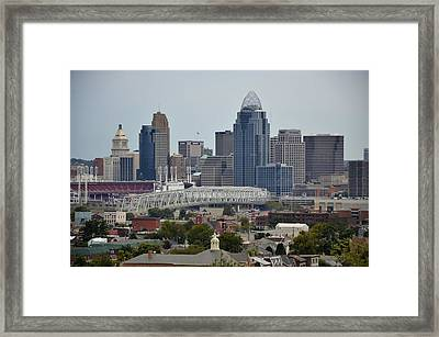 Cincy Framed Print