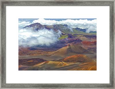 Cinder Cones - Haleakala Framed Print