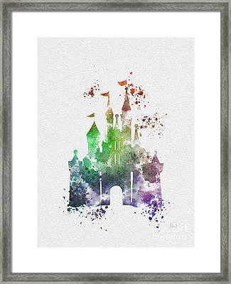 Cinderella Castle 2nd Edition Framed Print by Rebecca Jenkins