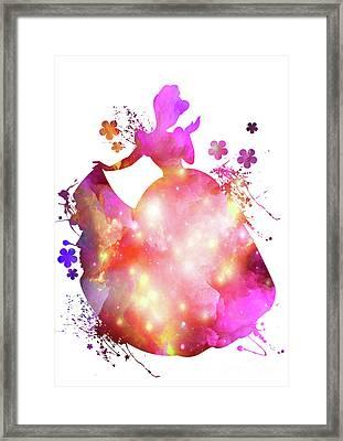 Cinderella  Framed Print by Prar Kulasekara