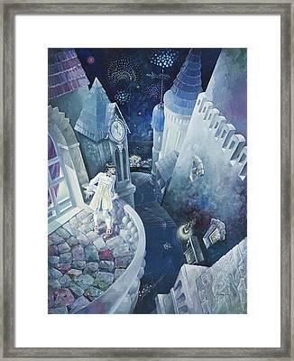 Cinderella. Midnight. Framed Print