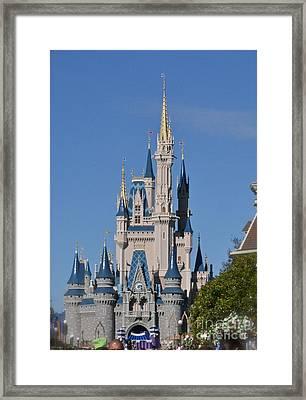 Cinderella's Castle Framed Print by Carol  Bradley
