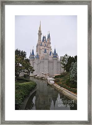 Cinderellas Castle Framed Print by John Black