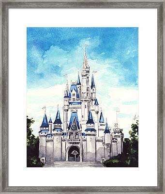 Cinderella's Castle Framed Print